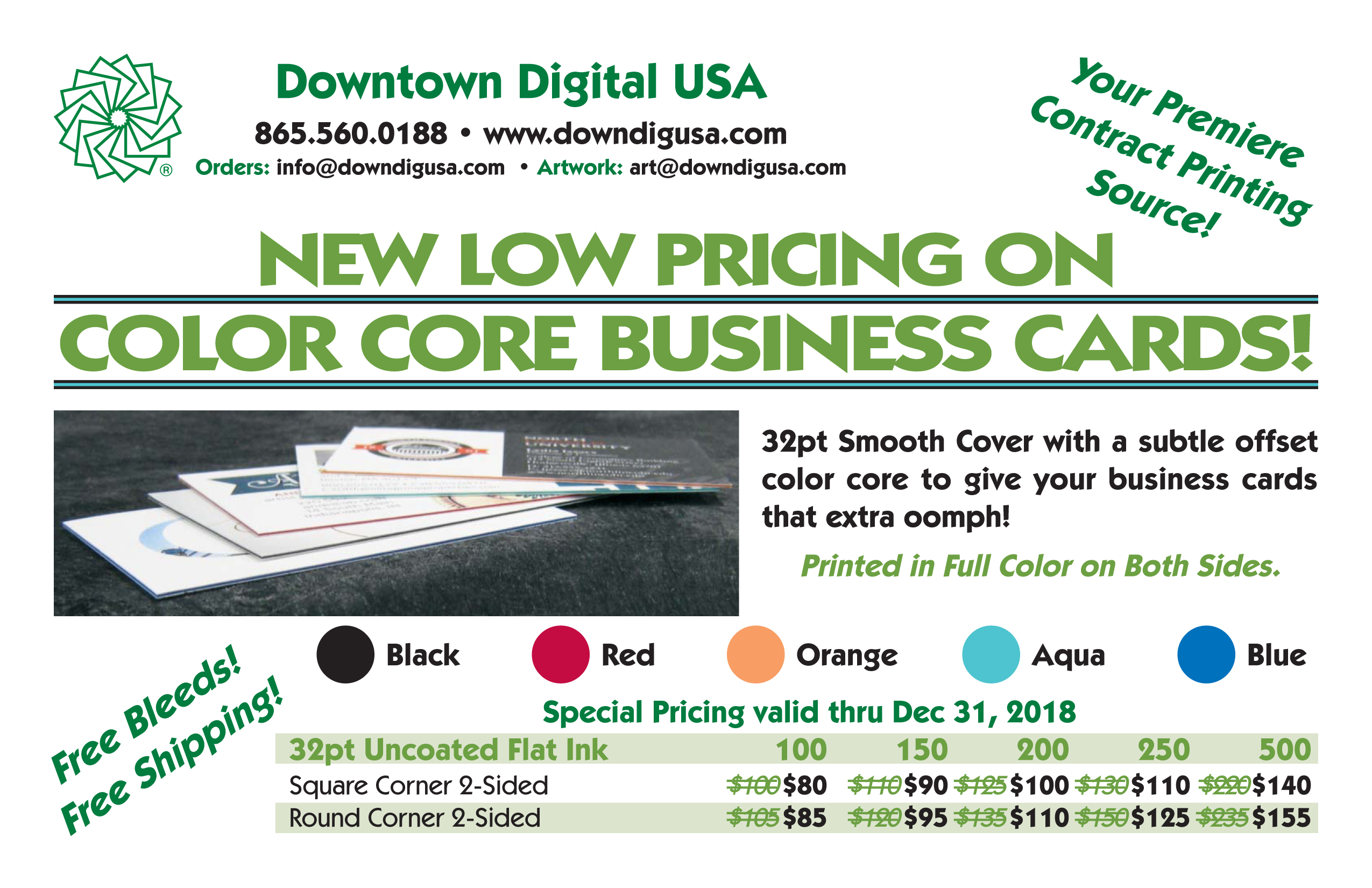 Downtown digital usa the souths most prestigious digital printer is in knoxville tennessee custom full color printing promotional products and fulfillment services reheart Images